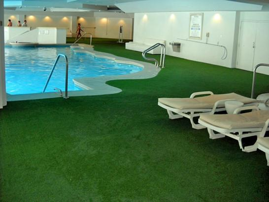 Artificial Grass Photos: Artificial Grass Carpet Woodland Beach, Michigan Landscape Rock, Backyard Pool