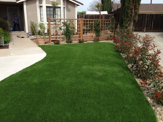 Artificial Grass Photos: Artificial Grass Installation Perrinton, Michigan Lawn And Landscape, Small Front Yard Landscaping