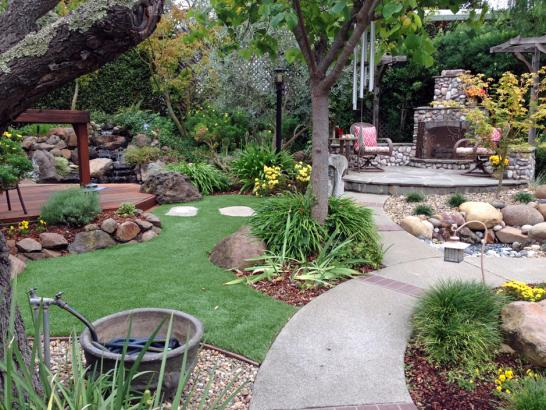 Artificial Grass Photos: Fake Grass New Baltimore, Michigan Lawn And Landscape, Backyard