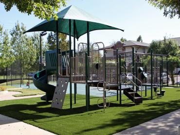 Artificial Grass Photos: Fake Turf Grand Blanc, Michigan Upper Playground, Recreational Areas