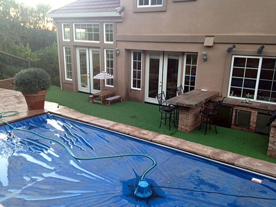 Artificial Grass Photos: Fake Turf Jonesville, Michigan Paver Patio, Backyard Designs