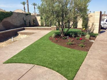 Artificial Grass Photos: Faux Grass Britton, Michigan Paver Patio, Landscaping Ideas For Front Yard