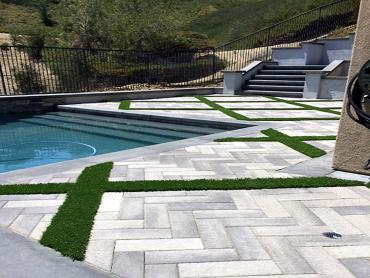 Artificial Grass Photos: Grass Turf Grass Lake, Michigan Lawn And Garden, Above Ground Swimming Pool