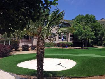 Artificial Grass Photos: Green Lawn Bloomfield Hills, Michigan Artificial Putting Greens, Front Yard Design