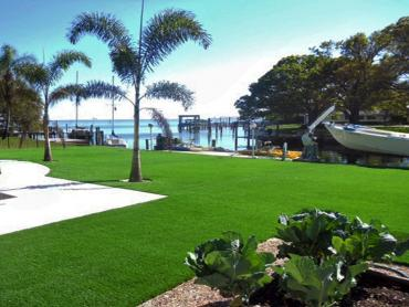 Green Lawn Holt, Michigan Paver Patio, Backyard artificial grass