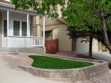Artificial Grass Photos: Green Lawn Lansing, Michigan, Front Yard Landscaping