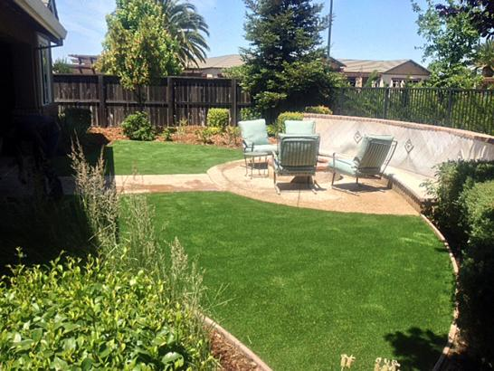 Artificial Grass Photos: Installing Artificial Grass Westland, Michigan Paver Patio, Backyard