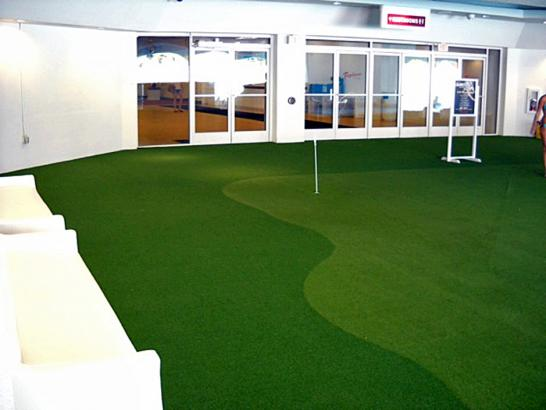 Artificial Grass Photos: Lawn Services Belleville, Michigan Outdoor Putting Green, Commercial Landscape