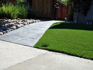 Artificial Grass Photos: Plastic Grass Big Rapids, Michigan Lawn And Landscape, Front Yard Design