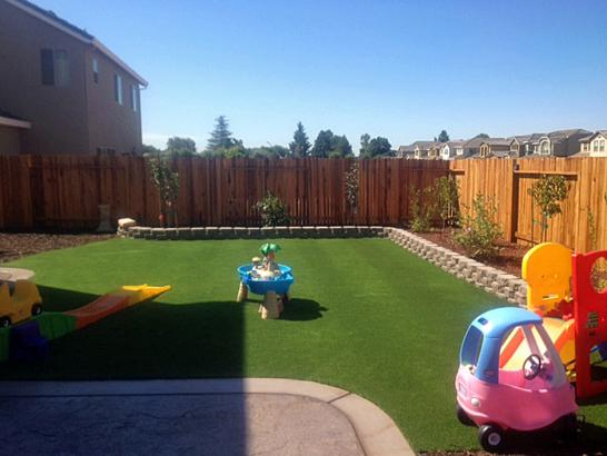 Artificial Grass Photos: Plastic Grass Wolverine Lake, Michigan Playground Turf, Backyard