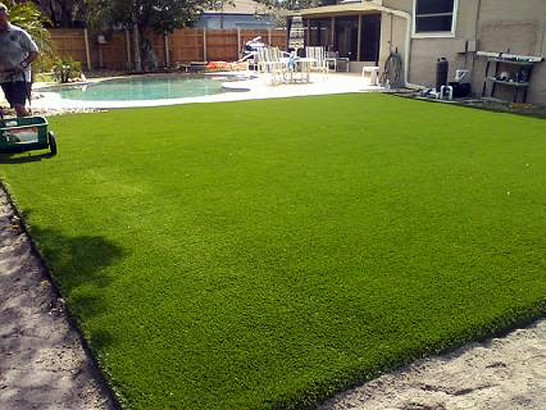 Artificial Grass Photos: Synthetic Lawn Homer, Michigan Landscaping Business, Above Ground Swimming Pool