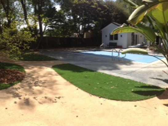 Synthetic Turf Hickory Corners, Michigan Landscape Rock, Backyard Design artificial grass