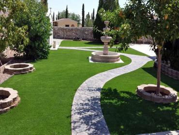 Artificial Grass Photos: Turf Grass Burlington, Michigan Landscape Rock, Backyard Design
